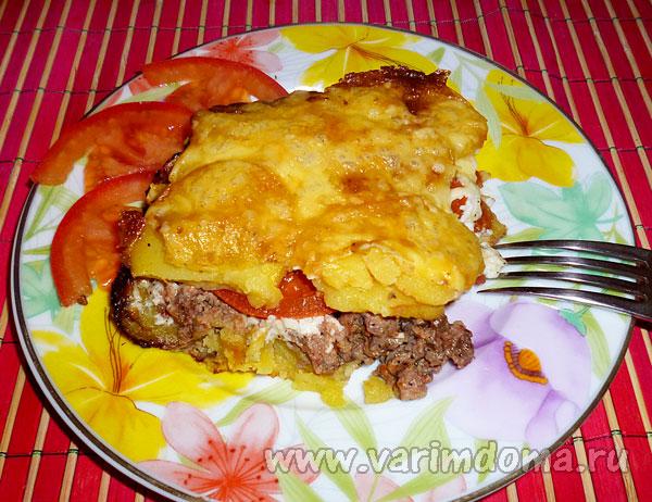 Рецепт приготовления картофельной запеканки