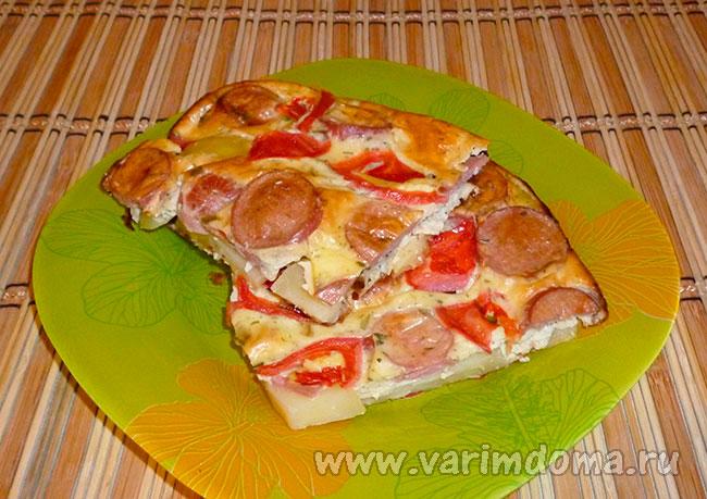 Рецепт картофельной запеканки без сыра